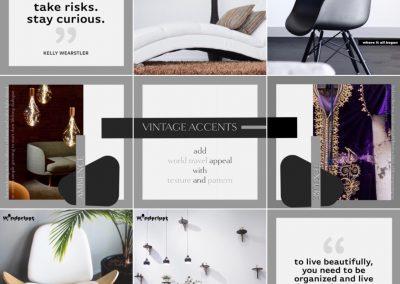 Instagram Social Media Posts, Logo & Branding